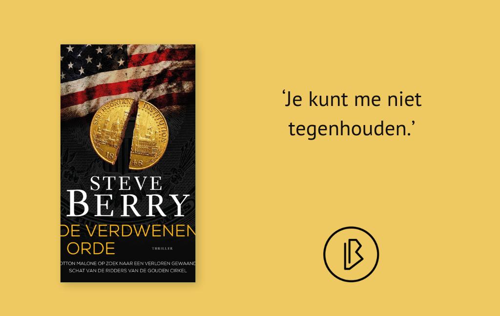 Recensie: Steve Berry – De Verdwenen Orde