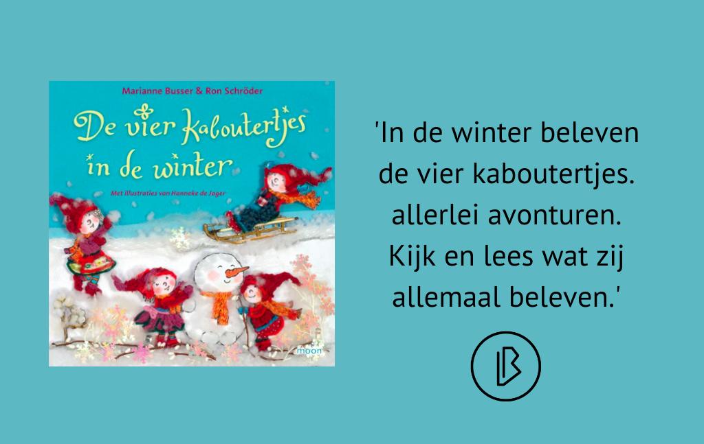 Recensie: Marianne Busser & Ron Schröder – De vier kaboutertjes in de winter