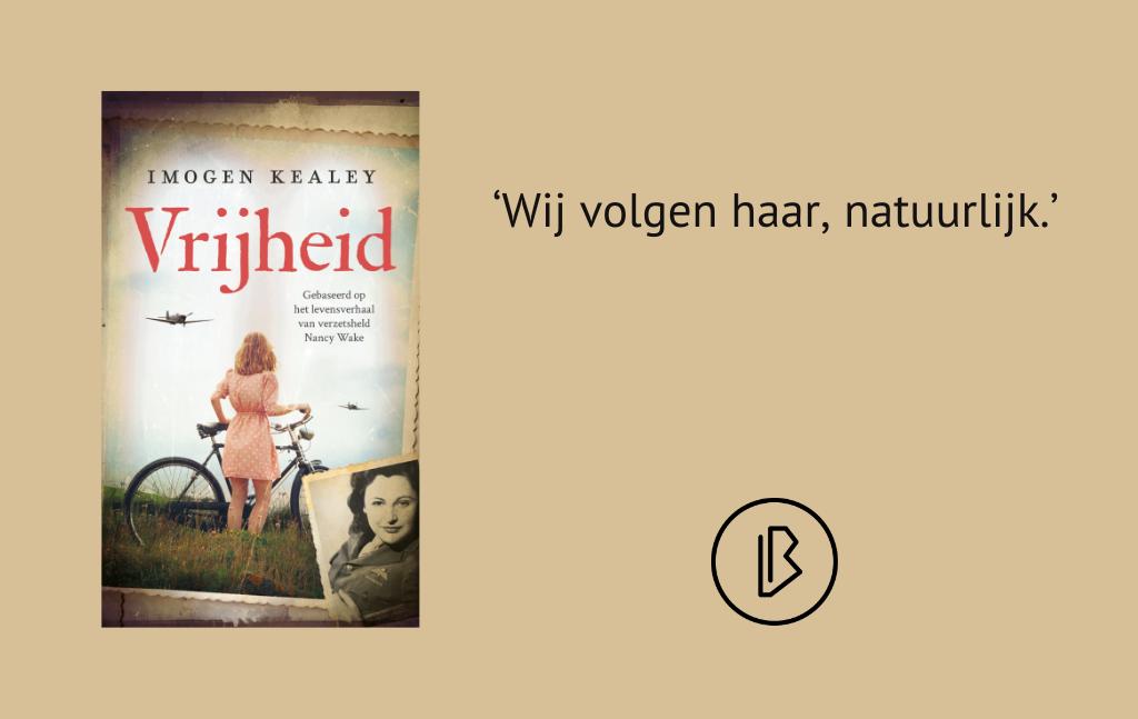 Recensie: Imogen Kealey – Vrijheid