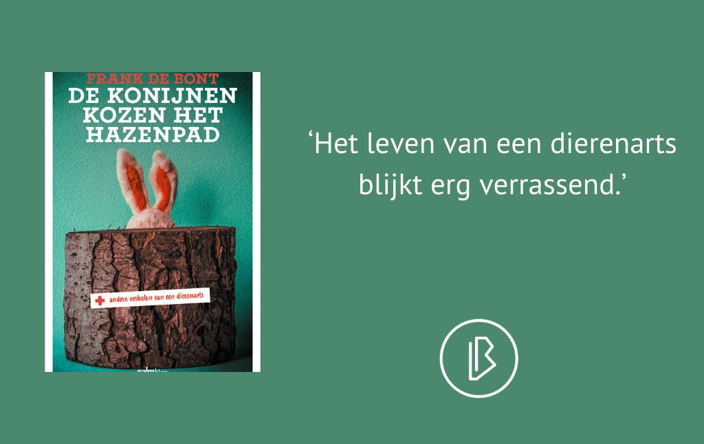 Recensie: Frank de Bont – De konijnen kozen het hazenpad