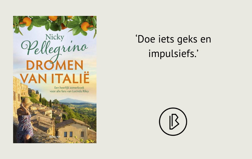 Recensie: Nicky Pellegrino – Dromen van Italië
