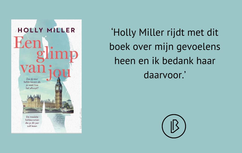 Recensie: Holly Miller – Een glimp van jou