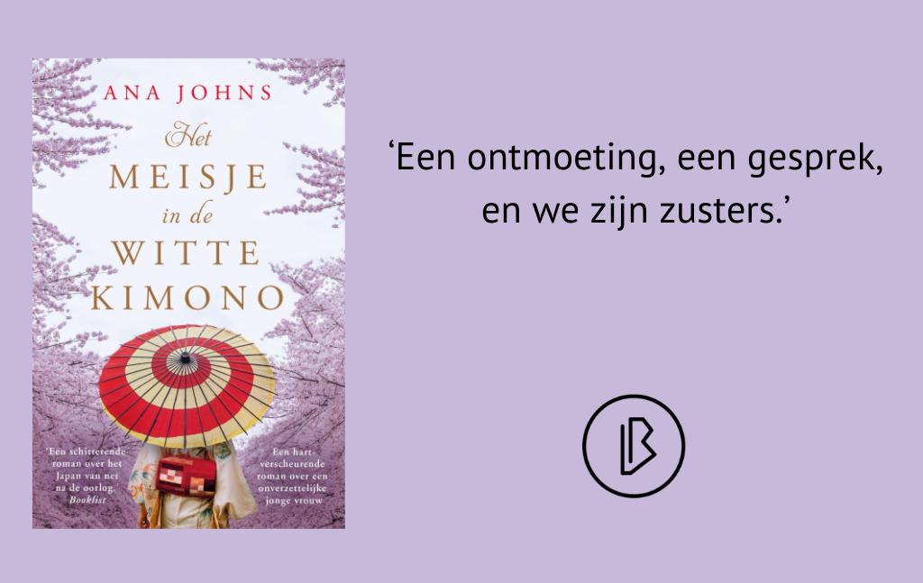 Recensie: Ana Johns – Het meisje in de witte kimono