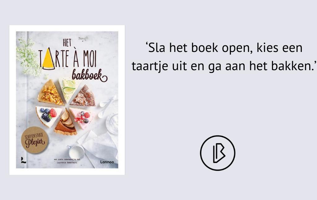 Recensie: Laurence Bemelmans – Het Tarte à Moi Bakboek