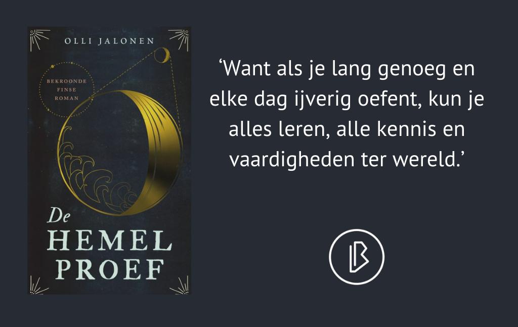 Recensie: Olli Jalonen – De Hemelproef