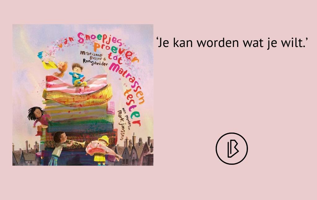 Recensie: Marianne Busser & Ron Schröder – Van snoepjesproever tot matrassentester